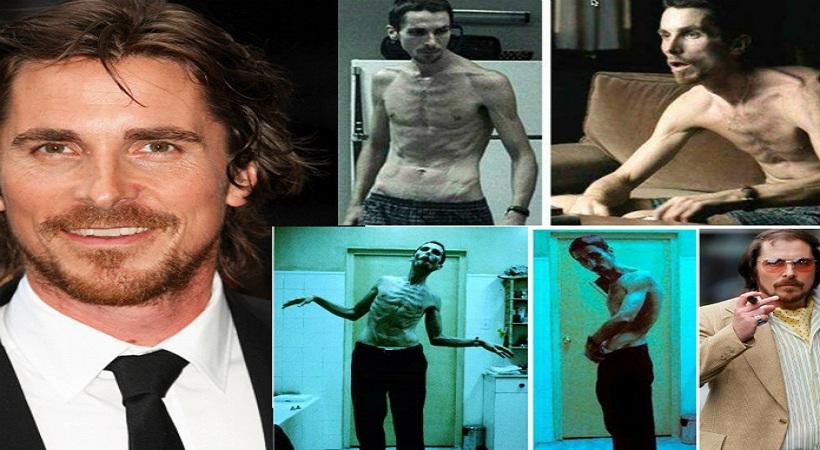 20 διάσημοι ηθοποιοί που «κατέστρεψαν» το σώμα τους για έναν ρόλο