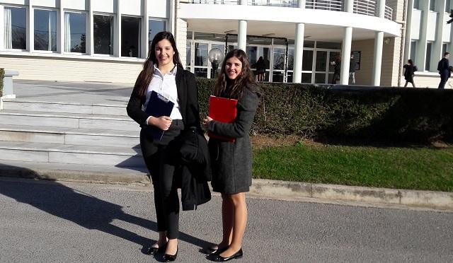 Μαθήτριες του Γυμνασίου Ευξεινούπολης σε «Ρόλο Διπλωμάτη»