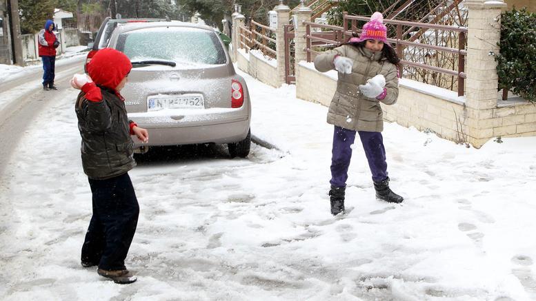 Ερχεται νέο κύμα κακοκαιρίας: Πού θα χτυπήσει ο χιονιάς τις επόμενες μέρες