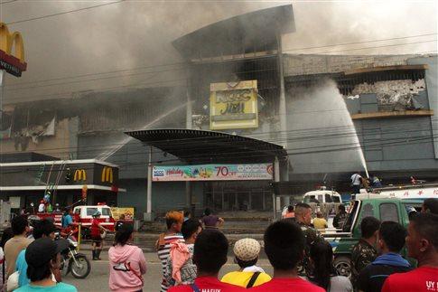 Φιλιππίνες: Φόβοι για 37 νεκρούς από πυρκαγιά σε εμπορικό κέντρο [Βίντεο]