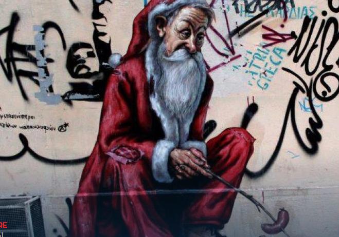 Άδειος Βασίλης: 15 πράγματα για τα Χριστούγεννα που γράφτηκαν σε τοίχους