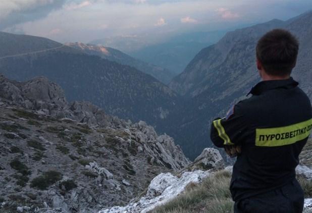 Απεγκλωβίστηκαν οι δύο ορειβάτες από τον Όλυμπο