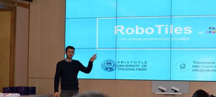 Βραβείο σε φοιτητές του ΑΠΘ: Δημιούργησαν ένα καινοτόμο εκπαιδευτικό παιχνίδι αφής [εικόνες]