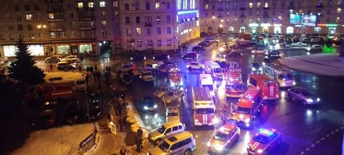 Ισχυρή έκρηξη σε σούπερ μάρκετ στην Αγία Πετρούπολη. Για τρομοκρατική ενέργεια μιλούν οι Αρχές