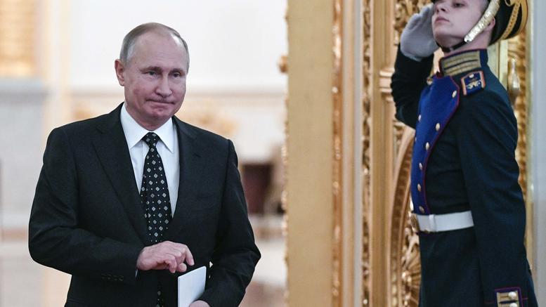 Ως ανεξάρτητος υποψήφιος διεκδικεί ο Πούτιν την νέα θητεία στο Κρεμλίνο