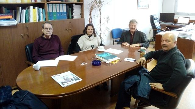 Συνάντηση της Επιτροπής Αγώνα Βόλου με επιστημονική ομάδα του Μετσόβιου Πολυτεχνείου