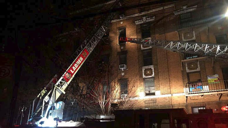 Πυρκαγιά με 12 νεκρούς σε διαμέρισμα του Μπρονξ στη Νέα Υόρκη