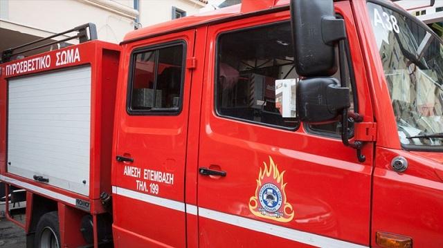 Υπό έλεγχο ετέθη η μεγάλη πυρκαγιά στη ΒΙ.ΠΕ. Σίνδου
