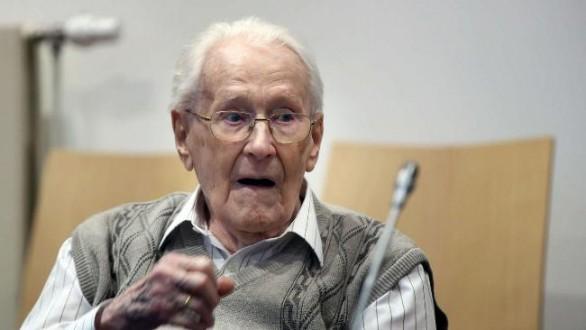 Στη φυλακή οδηγείται ο λογιστής του Αουσβιτς παρά τα 96 του χρόνια
