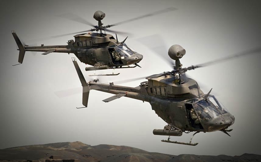 Στην 1η ΤΑΞΑΣ στο Στεφανοβίκειο τα ελικόπτερα OH-58D KiowaWarrior