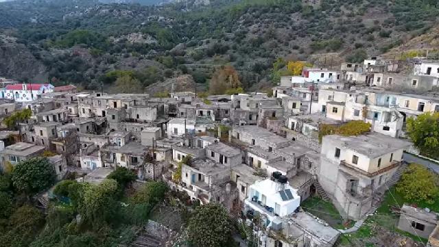Το εγκαταλελειμμένο χωριό της Κρήτης σε βραβεία του Λος Αντζελες
