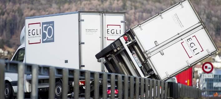H καταιγίδα Eleanor «σαρώνει» την Δ. Ευρώπη: Ένας νεκρός, 15 τραυματίες