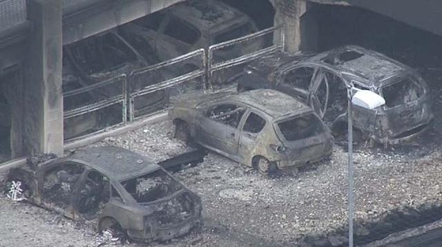 1.400 αυτοκίνητα έγιναν στάχτη σε ένα βράδυ στο Λίβερπολ
