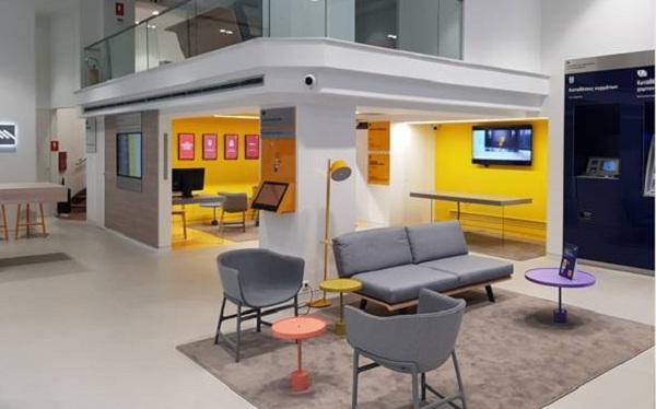 Νέο κατάστημα e-branch της Τράπεζας Πειραιώς στην Γλυφάδα