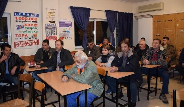 Έτοιμοι για τον κόμβο της Νίκαιας οι αγρότες της Καρδίτσας