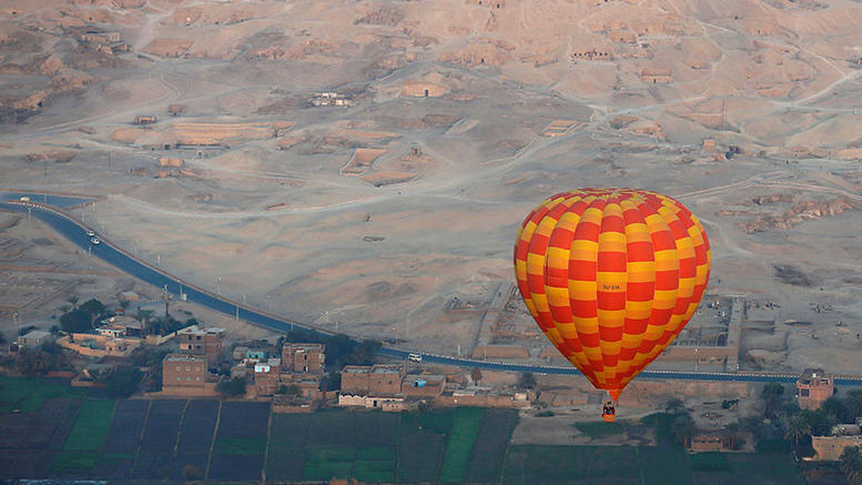 Συνετρίβη αερόστατο στην Αίγυπτο που μετέφερε τουρίστες