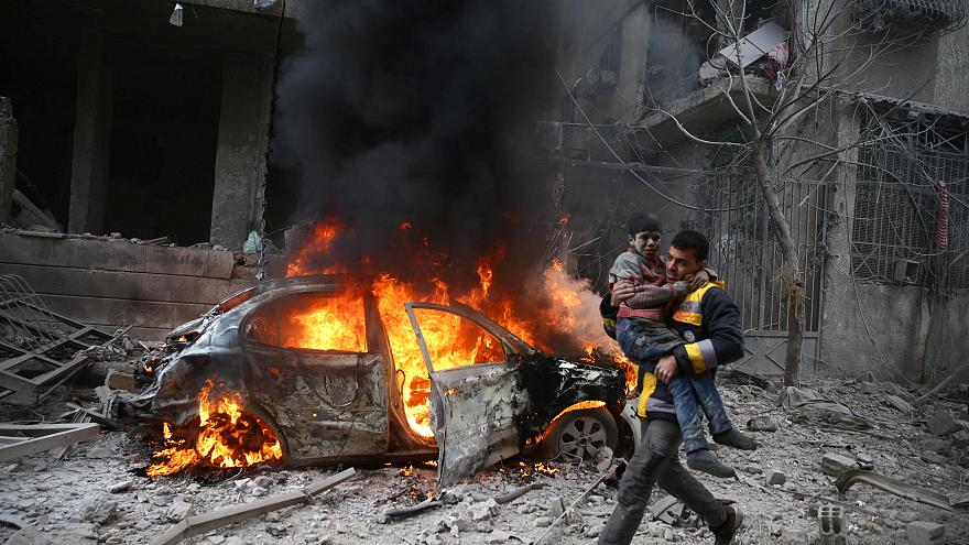 Τουλάχιστον 18 νεκροί από έκρηξη στη Συρία [Βίντεο]