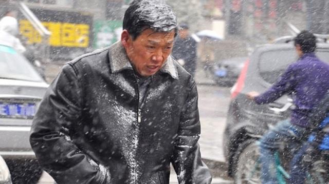 Σε κατάσταση «μπλε συναγερμού» λόγω παγετού η Κίνα