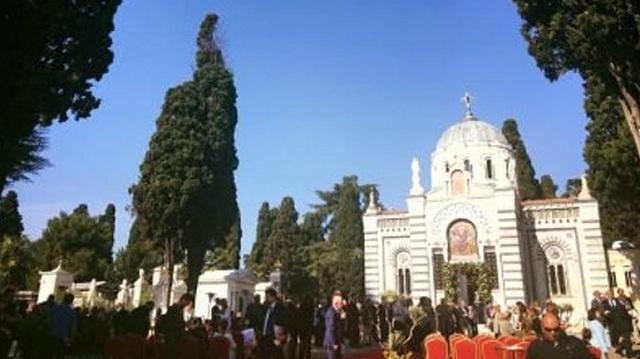 Θυρανοίξια του ανακαινισμένου ναού του Αγίου Στεφάνου στην Κωνσταντινούπολη