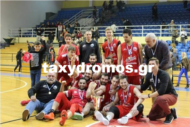 Άξιος κυπελλούχος ο Ολυμπιακός, 75-61 τον ΓΣ Βόλου στον τελικό