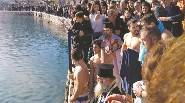 Ο εορτασμός των Θεοφανείων σε Αλμυρό και στις Σποράδες
