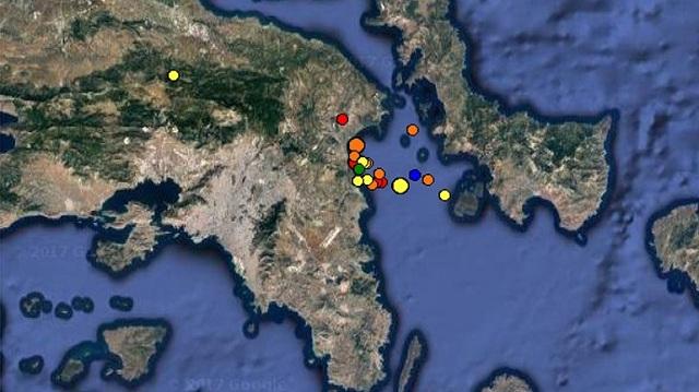 Συνεχίζονται οι σεισμοί μεταξύ Ραφήνας-Ν. Μάκρης. «Παρακολουθούμε» το φαινόμενο» λένε οι σεισμολόγοι