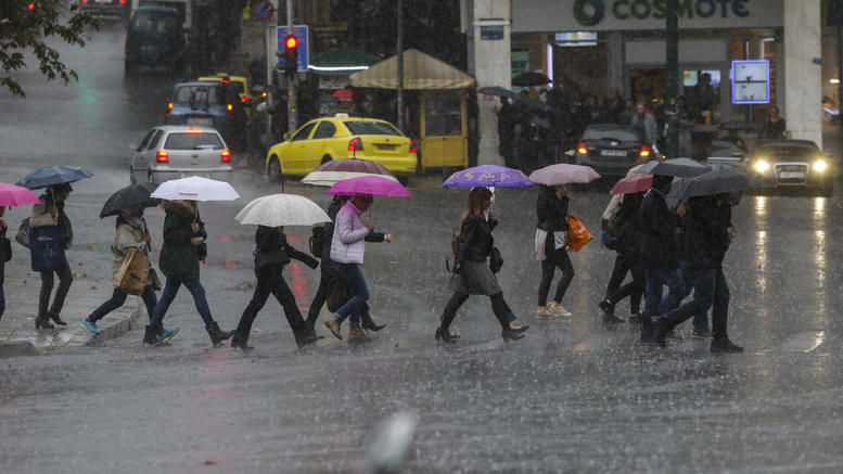 Εκτακτο δελτίο της ΕΜΥ: Κύμα κακοκαιρίας με καταιγίδες