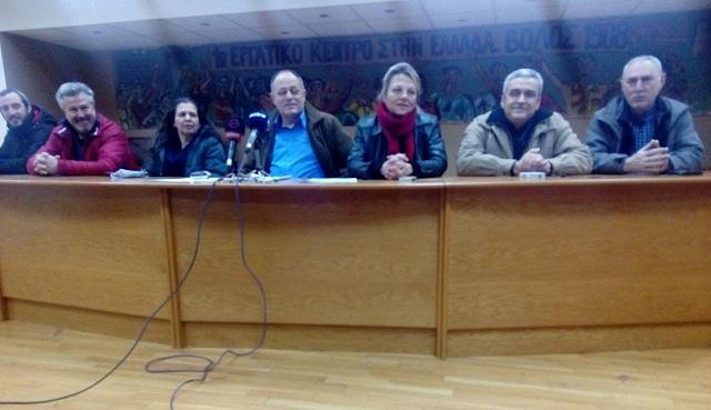Μπαράζ κινητοποιήσεων στον Βόλο για τις αλλαγές στις απεργίες