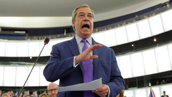 Φάρατζ: Ίσως πρέπει να κάνουμε και δεύτερο δημοψήφισμα για το Brexit