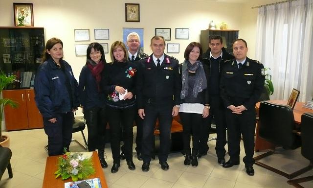Έμπρακτη στήριξη των αστυνομικών της Μαγνησίας στη «Φλόγα»