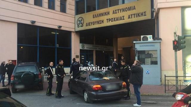 Πυροβολισμοί στο κέντρο της Αθήνας: Κυνηγούσαν δραπέτη στα στενά [βίντεο]