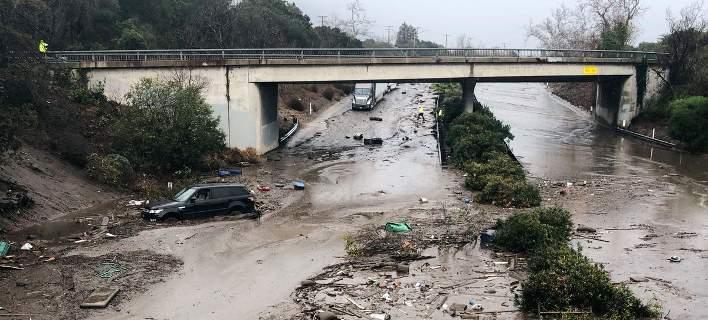 Στους 18 οι νεκροί εξαιτίας των κατολισθήσεων λάσπης στη νότια Καλιφόρνια