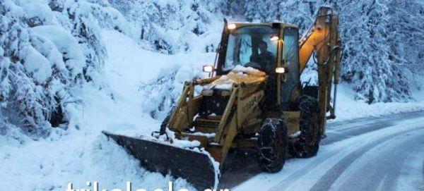 Το ένα μέτρο έφτασε το χιόνι στα Τρίκαλα - Απαραίτητες οι αλυσίδες