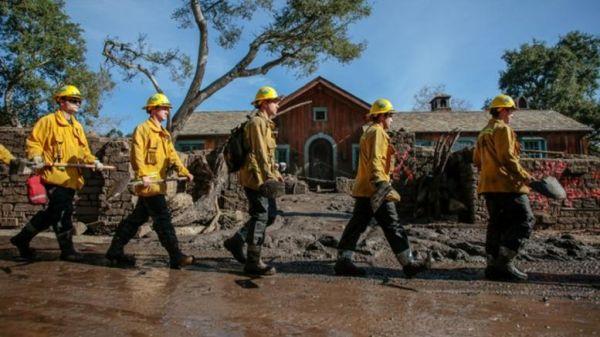 Καλιφόρνια: Στενεύουν τα περιθώρια για επιζώντες από την κατολίσθηση λάσπης