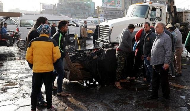 Μακελειό στη Βαγδάτη από διπλή βομβιστική επίθεση