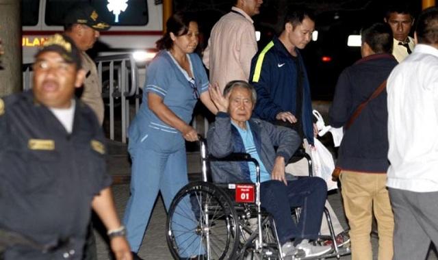 Ξανά στο νοσοκομείο ο πρόεδρος του Περού