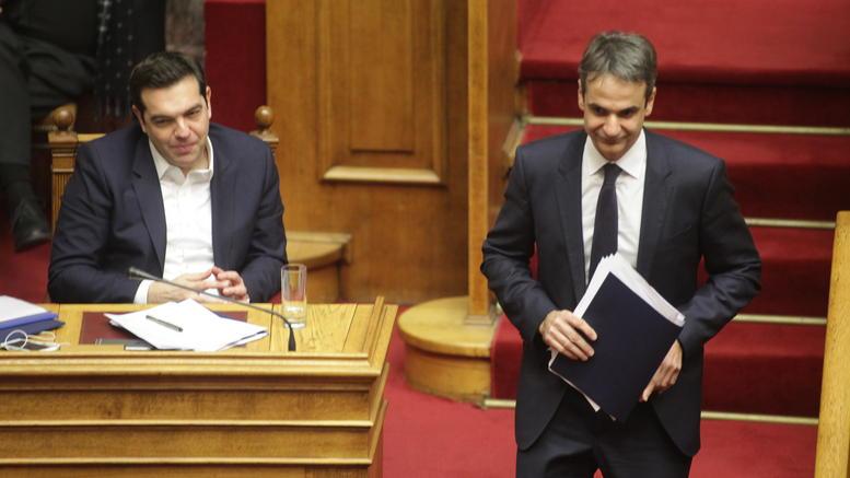 Νέα κόντρα Τσίπρα-Μητσοτάκη στη Βουλή για το πολυνομοσχέδιο