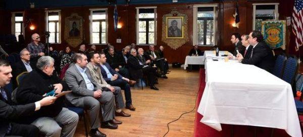 Ομογενείς: Εχθρός μας όποιος πει «ναι» στο όνομα «Μακεδονία»