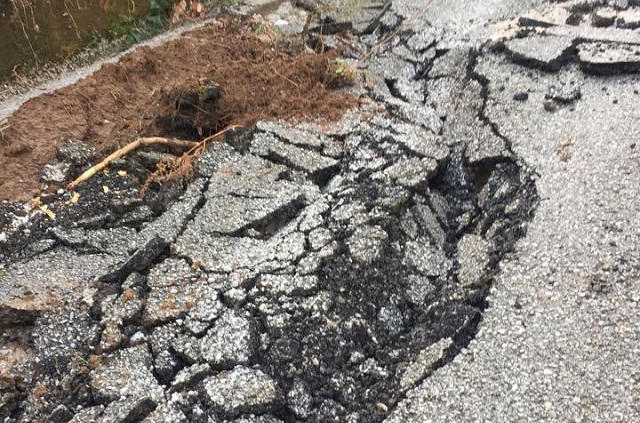 Προς αποκατάσταση ζημιές στο οδικό δίκτυο Ζαγοράς -Μουρεσίου από χιονοπτώσεις