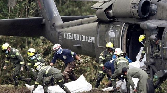 Κολομβία: Νεκροί και οι 10 επιβαίνοντες από συντριβή στρατιωτικού ελικοπτέρου