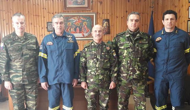 Εθιμοτυπική επίσκεψη στην Περιφερειακή Πυροσβεστική Διοίκηση Θεσσαλίας