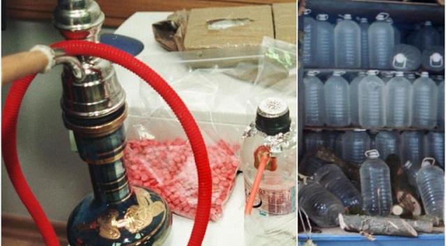 «Λαβράκι» από τους ράμπο του ΣΔΟΕ: Χιλιάδες λίτρα λαθραίων ποτών και καπνού