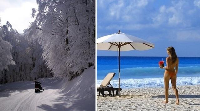 Τα ακραία καιρικά φαινόμενα στην Ελλάδα το 2017: Από τους -18,8 στους 45,9 C
