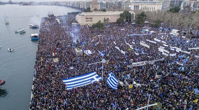 Διεθνή ΜΜΕ για το συλλαλητήριο: Οι Έλληνες απαιτούν να αλλάξει η ΠΓΔΜ ονομασία