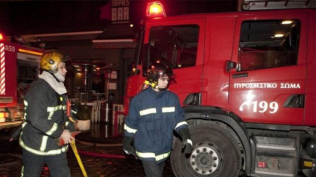 Νεκρή από πυρκαγιά σε διαμέρισμα στο κέντρο της Αθήνας