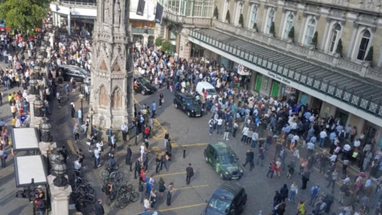 Συναγερμός στο Λονδίνο, διαρροή αερίου στο Charing Cross