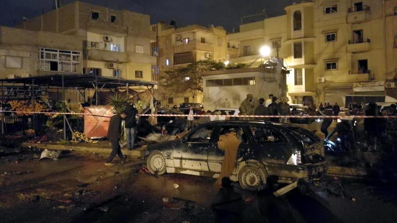 33 νεκροί από διπλή βομβιστική επίθεση στη Λιβύη