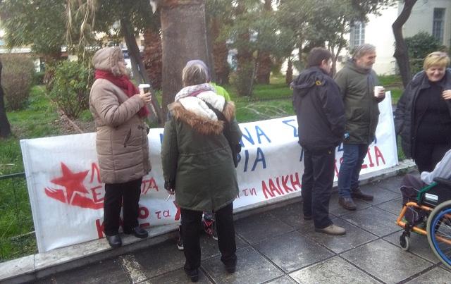 Λαϊκή Ενότητα: Για άλλη μια φορά δεν έγιναν πλειστηριασμοί και στο Βόλο