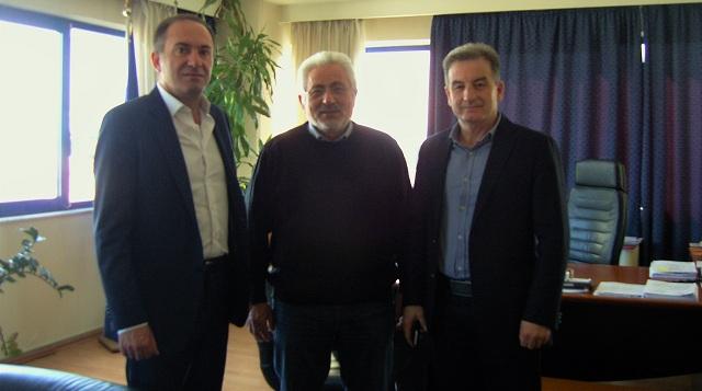 Αποχαιρετιστήρια επίσκεψη στον Ν. Ντίτορα των δύο εν αποστρατεία Αστυνομικών Διευθυντών