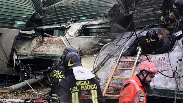 Ιταλία: Πρόβλημα στις ράγες η αιτία του σιδηροδρομικού δυστυχήματος έξω από το Μιλάνο